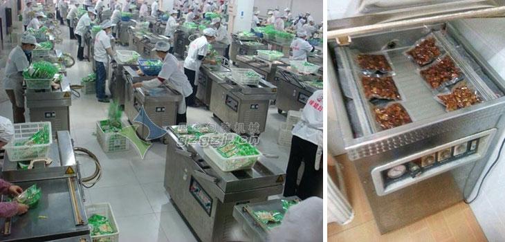 天津市鑫杏林食品有限公司生产车间现场